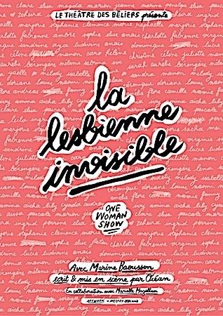 """MARINE BAOUSSON """"LA LESBIENNE INVISIBLE"""""""