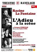 RACINE LA FONTAINE, L'ADIEU À LA SCÈNE (L')
