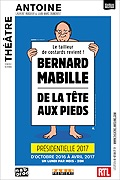 """BERNARD MABILLE """"De la tête aux pieds"""""""