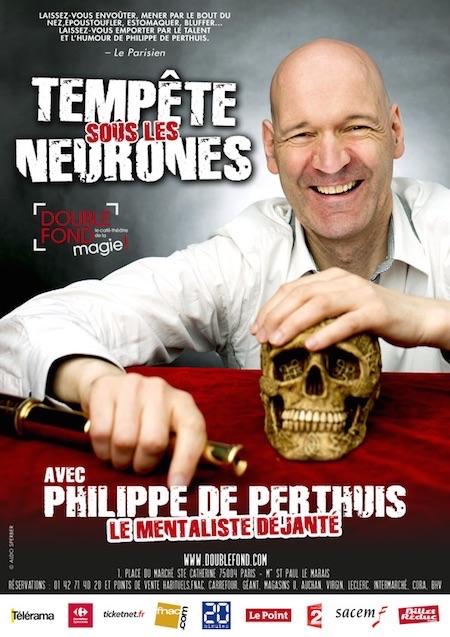 PHILIPPE DE PERTHUIS - Tempête sous les neurones