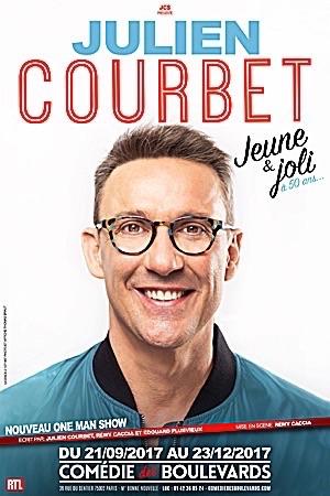 """JULIEN COURBET """"Jeune et joli… à 50 ans"""""""