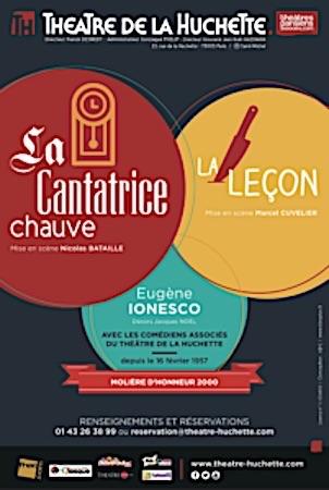 CANTATRICE CHAUVE (LA)  Huchette