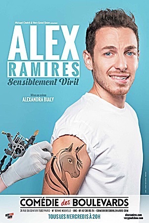 "ALEX RAMIRÈS ""SENSIBLEMENT VIRIL"""