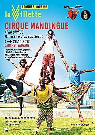 "CIRQUE MANDIGUE-AFRO CIRKUS ""Itinéraire d'un continent"""