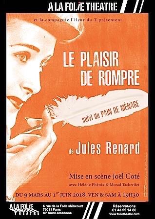PLAISIR DE ROMPRE (LE)