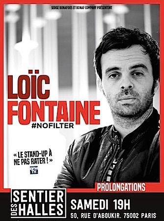 """LOIC FONTAINE """"NOFILTER"""""""