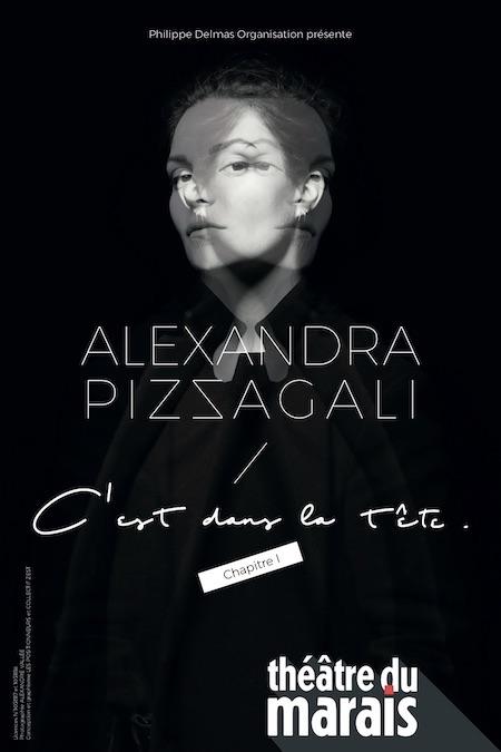 ALEXANDRA PIZZAGALI - C'EST DANS LA TÊTE