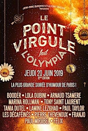 POINT VIRGULE FAIT L'OLYMPIA (LE) 2018