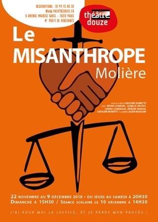 MISANTHROPE (LE) - Théâtre 12