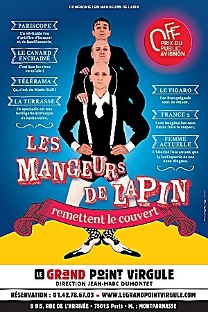 MANGEURS DE LAPIN REMETTENT LE COUVERT (LES)
