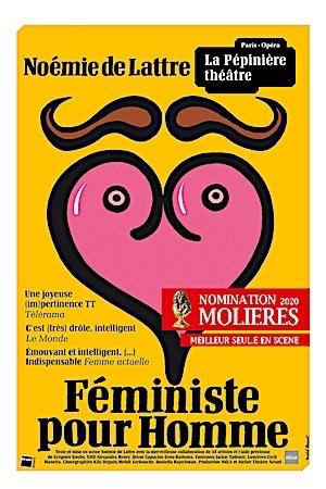 """NOÉMIE DE LATTRE """"FÉMINISTE POUR HOMME"""""""