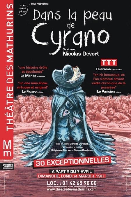 DANS LA PEAU DE CYRANO - Mathurins