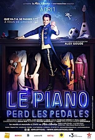 LE PIANO PERD LES PÉDALES